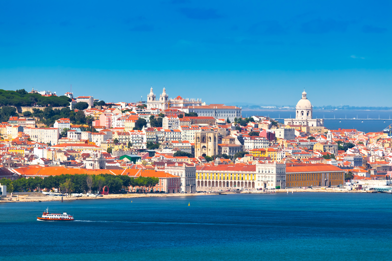 Lisbon is Europe's westernmost capital city and the single one along the Atlantic coast.